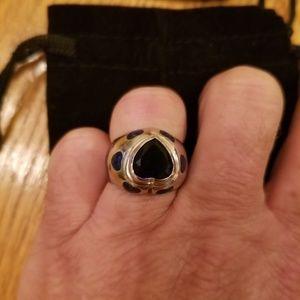 Lauren G. Adams Heart Ring